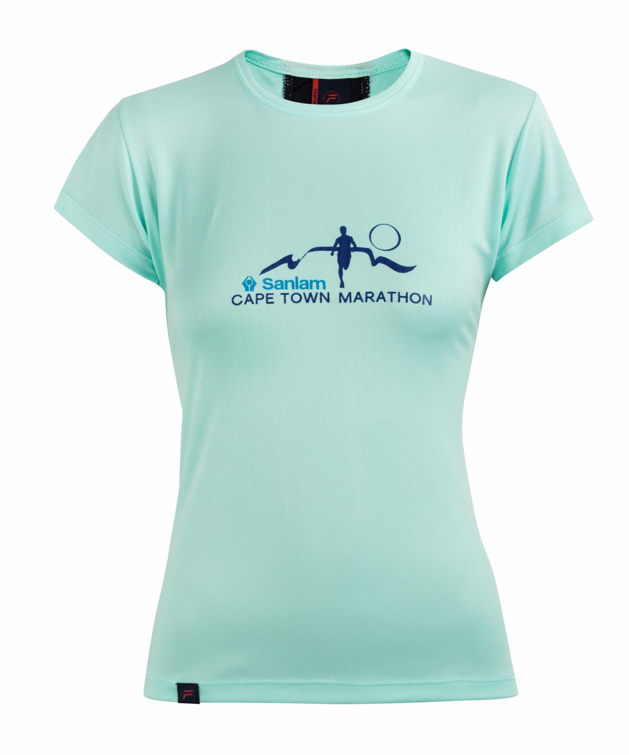 "Featured image for ""Marathon Dry Fit T-Shirt - Ladies"""